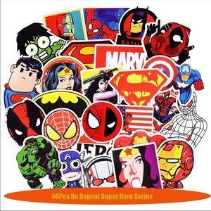 Other - 50 Pcs New Funny Random Superhero Stickers